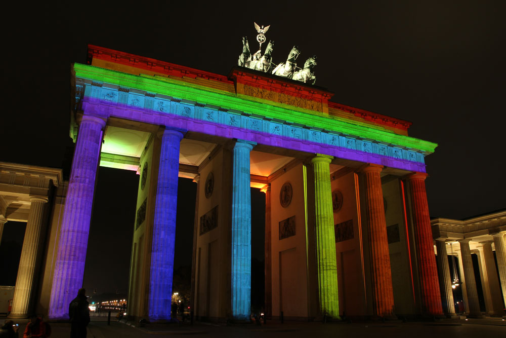 Festival of Lights 2012: Brandenburger Tor