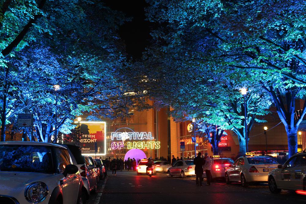 Festival of Lights 2012: Potsdamer Platz