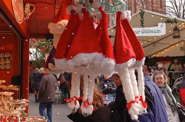 Weihnachtsmarkt am Opernpalais - Verkaufsstände