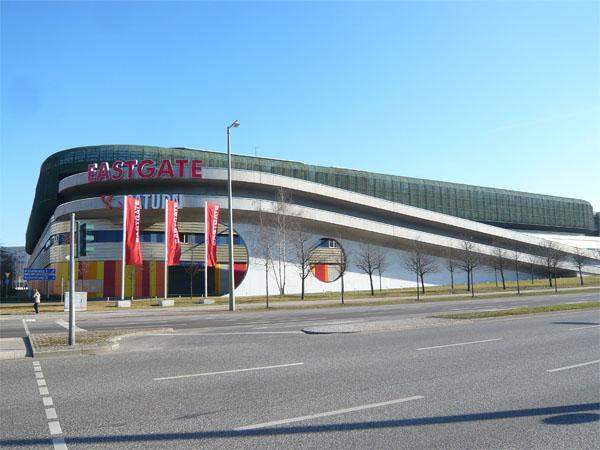 Eastgate Berlin - Blick von der Märkischen Allee