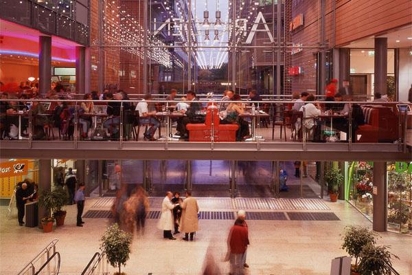 Potsdamer Platz Arkaden - Eingangsbereich