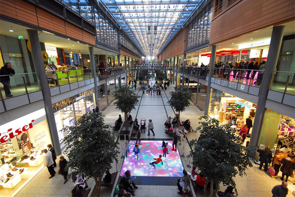 Potsdamer Platz Arkaden - Innenansicht