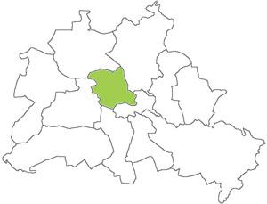 Berlin Karte - Mitte