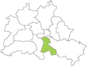 Berlin Karte - Neukölln