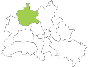 Berlin Karte - Reinickendorf