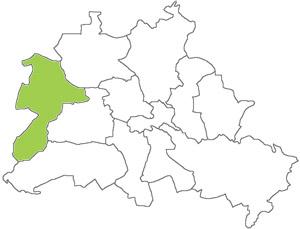 Berlin Karte - Spandau