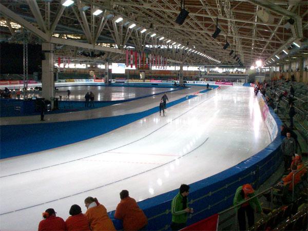 Sportforum Hohenschönhausen - Innenansicht