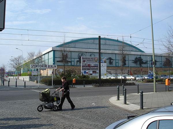 Sportforum Hohenschönhausen - Außenansicht