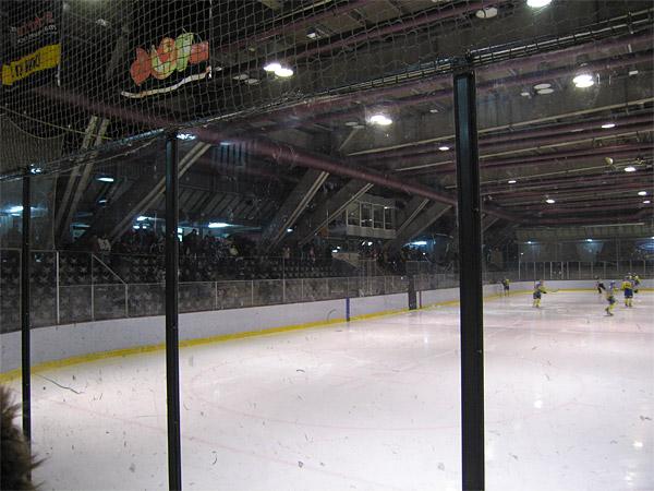 Erika-Heß-Eisstadion - Innenansicht