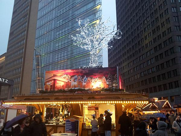 Weihnachtsmarkt am Potsdamer Platz