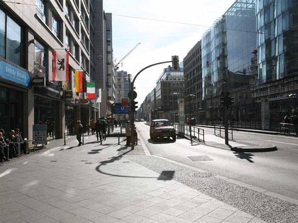 Einkaufen: Friedrichstraße