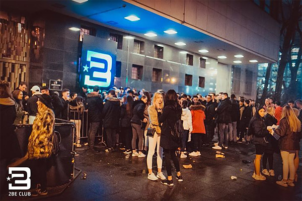 2BE Club Berlin - Eingang