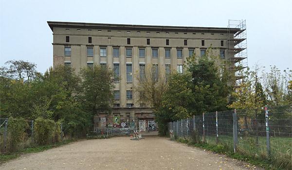 Berghain Club Berlin - Außenansicht
