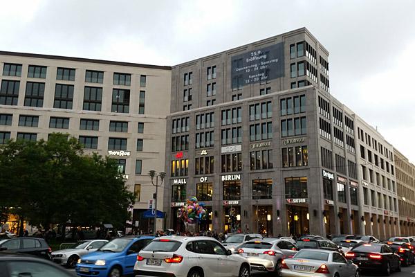 Mall of Berlin - Außenansicht