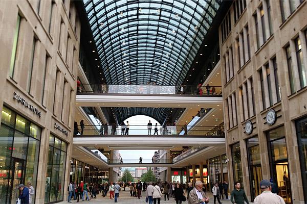 Mall of Berlin - Innenansicht