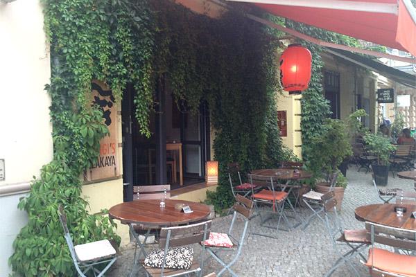 Gingi's Izakaya Berlin - Außenbereich
