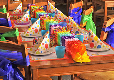 Kinderkiste Lankwitz - Geburtstagsfeier