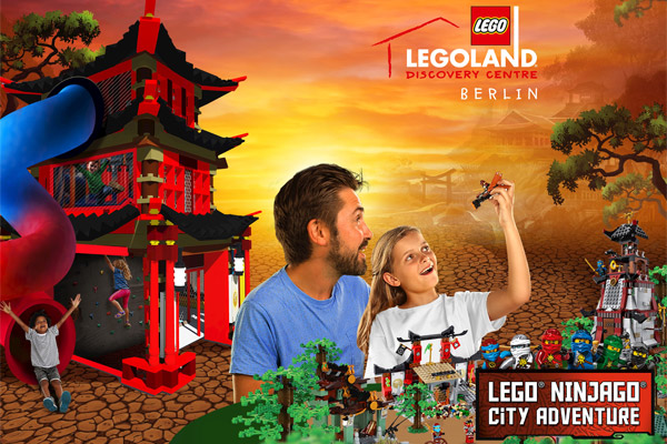LEGOLAND Discovery Centre Berlin - LEGO NINJAGO City Adventure