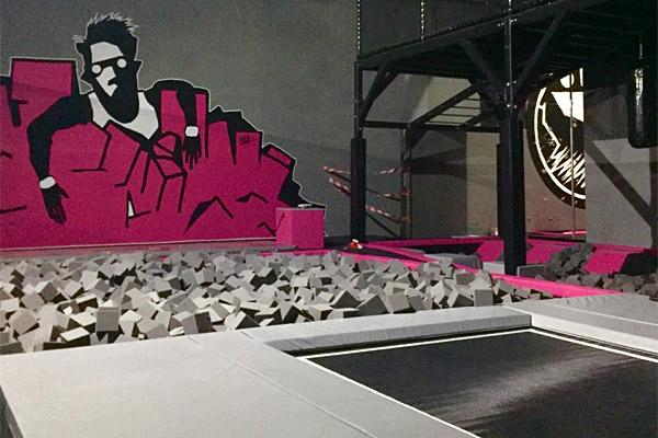 SPRUNG.RAUM Berlin - Foam Jump